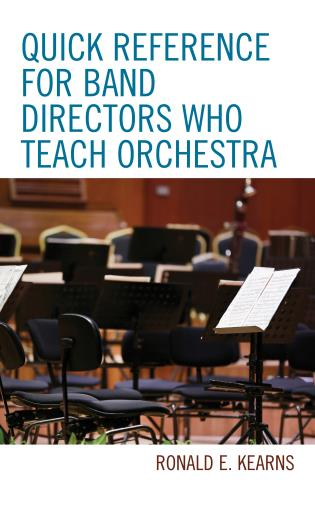 Cover image for the book Quick Reference for Band Directors Who Teach Orchestra