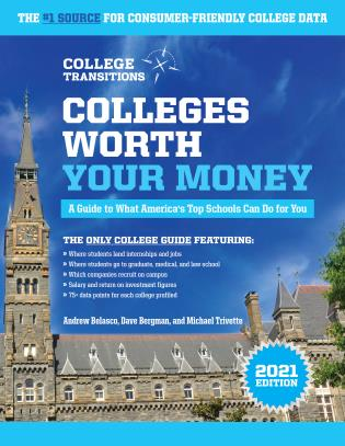 Cover image for the book Colleges Worth Your Money: A Guide to What America's Top Schools Can Do for You, 1st Edition