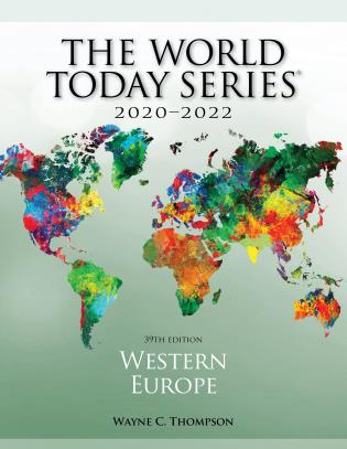 Cover image for the book Western Europe 2020–2022, 39th Edition
