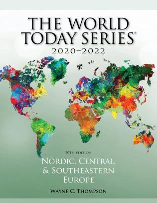 Cover image for the book Nordic, Central, and Southeastern Europe 2020–2022, 20th Edition