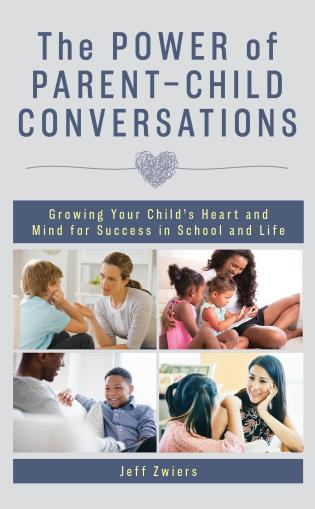 Cover image for the book The Power of Parent-Child Conversations: Growing Your Child's Heart and Mind for Success in School and Life