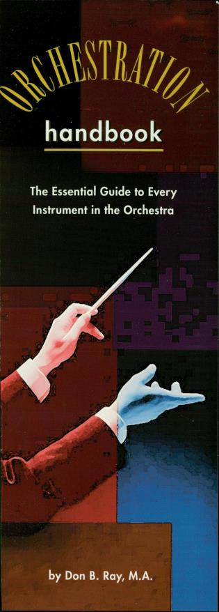 Cover image for the book The Orchestration Handbook: The Essential Guide to Every Instrument in the Orchestra