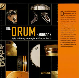 Cover image for the book The Drum Handbook: Buying, Maintaining and Getting the Best from Your Drum Kit