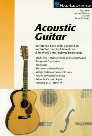 Cover image for the book Acoustic Guitar: The Composition, Construction and Evolution of One of World's Most Beloved Instruments