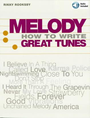 Cover image for the book Melody: How to Write Great Tunes