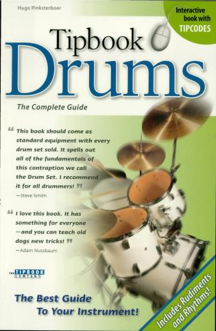 Cover image for the book Tipbook Drums: The Complete Guide
