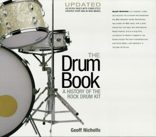 Cover image for the book The Drum Book: A History of the Rock Drum Kit