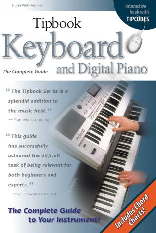 Cover image for the book Tipbook Keyboard & Digital Piano: The Complete Guide