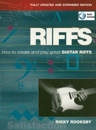 Cover image for the book Riffs: How to Create and Play Great Guitar Riffs, Revised and Updated Edition