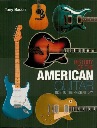 Cover image for the book History of the American Guitar: 1833 to the Present Day