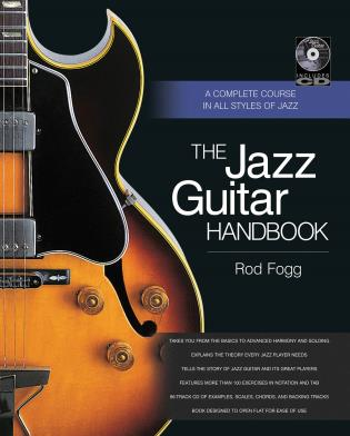 Cover image for the book The Jazz Guitar Handbook: A Complete Course in All Styles of Jazz