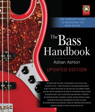 Cover image for the book The Bass Handbook: The Complete Guide to Mastering the Bass Guitar, Updated and Expanded Edition