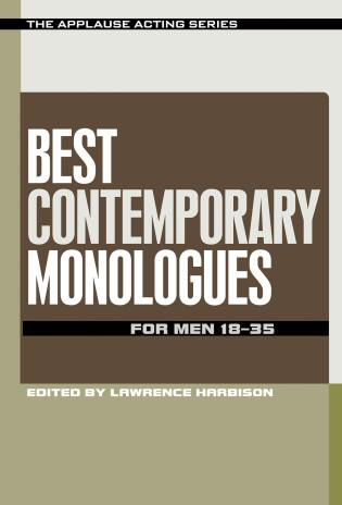 Cover image for the book Best Contemporary Monologues for Men 18-35