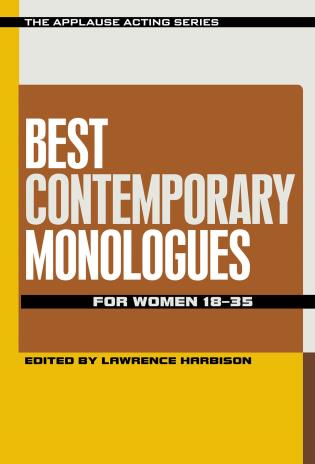 Cover image for the book Best Contemporary Monologues for Women 18-35