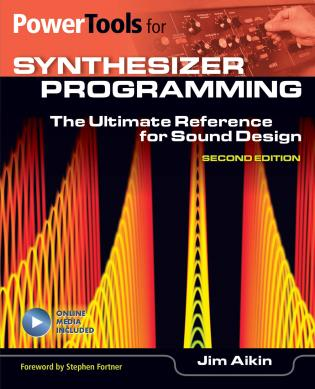 Cover image for the book Power Tools For Synthesizer Programming: The Ultimate Reference for Sound Design, 2nd Edition