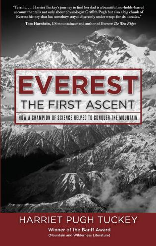 Cover image for the book Everest - The First Ascent: How a Champion of Science Helped to Conquer the Mountain