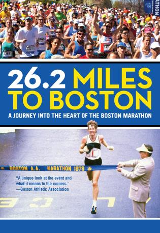 Cover image for the book 26.2 Miles to Boston: A Journey into the Heart of the Boston Marathon, Revised Edition