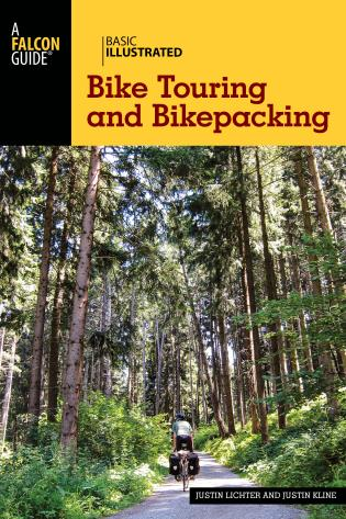 Cover image for the book Basic Illustrated Bike Touring and Bikepacking