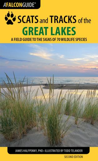 Cover image for the book Scats and Tracks of the Great Lakes: A Field Guide to the Signs of 70 Wildlife Species, 2nd Edition