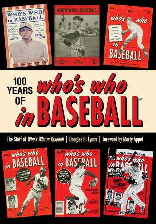 Cover image for the book 100 Years of Who's Who in Baseball