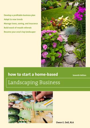 Cover image for the book How to Start a Home-Based Landscaping Business, Seventh Edition