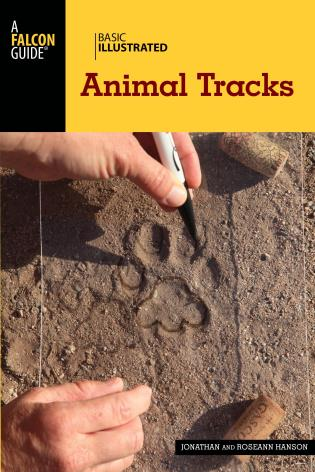 Cover image for the book Basic Illustrated Animal Tracks, 2nd Edition