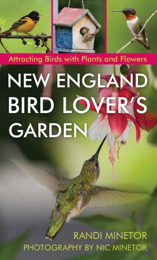 Cover image for the book New England Bird Lover's Garden: Attracting Birds with Plants and Flowers