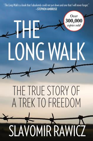 Cover image for the book The Long Walk: The True Story Of A Trek To Freedom