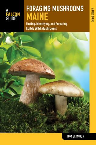 Cover image for the book Foraging Mushrooms Maine: Finding, Identifying, and Preparing Edible Wild Mushrooms