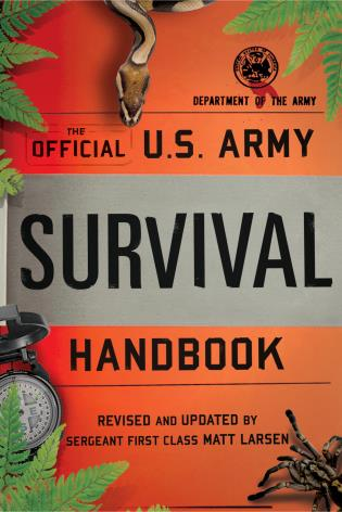Cover image for the book Official U.S. Army Survival Handbook