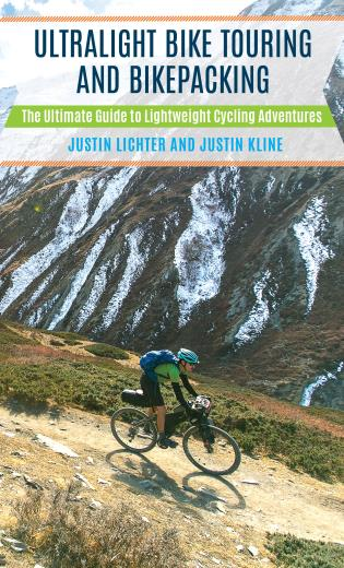 Cover image for the book Ultralight Bike Touring and Bikepacking: The Ultimate Guide to Lightweight Cycling Adventures