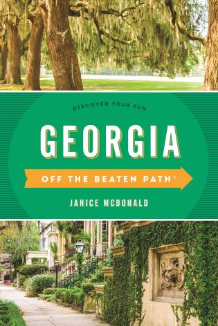 Cover image for the book Georgia Off the Beaten Path®: Discover Your Fun, Eleventh Edition
