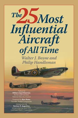 Cover image for the book The 25 Most Influential Aircraft of All Time