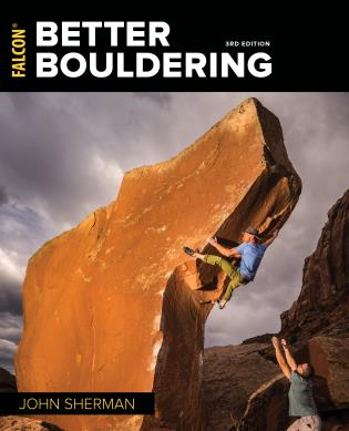 Cover image for the book Better Bouldering, Third Edition
