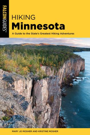 Cover image for the book Hiking Minnesota: A Guide to the State's Greatest Hiking Adventures, Third Edition