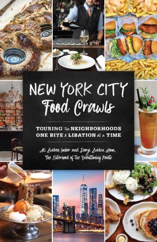 Cover image for the book New York City Food Crawls: Touring the Neighborhoods One Bite & Libation at a Time