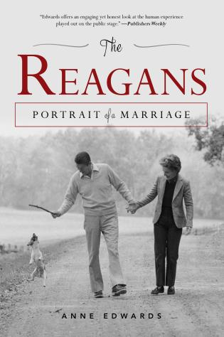 Cover image for the book The Reagans: Portrait of a Marriage