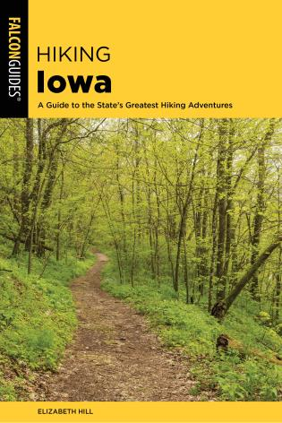 Cover Image of the book titled Hiking Iowa