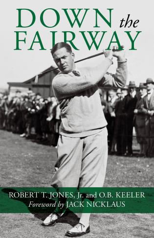 Cover image for the book Down the Fairway