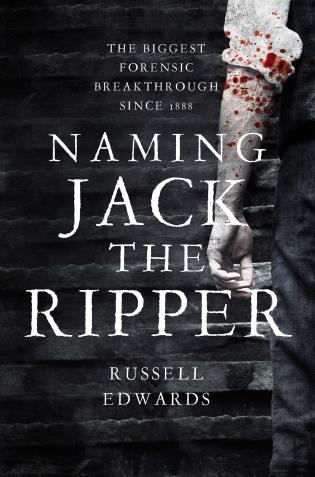 Cover image for the book Naming Jack the Ripper