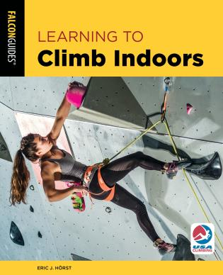 Cover image for the book Learning to Climb Indoors, Third Edition