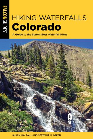 Cover Image of the book titled Hiking Waterfalls Colorado