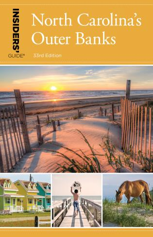 Cover image for the book Insiders' Guide® to North Carolina's Outer Banks, 33rd Edition