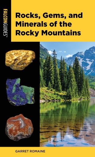 Cover image for the book Rocks, Gems, and Minerals of the Rocky Mountains, 2nd Edition