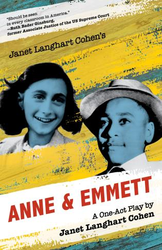 Cover image for the book Janet Langhart Cohen's Anne & Emmett: A One-Act Play, Trade Edition