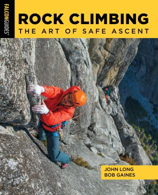 Cover image for the book Rock Climbing: The Art of Safe Ascent