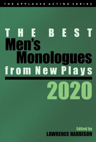 Cover image for the book The Best Men's Monologues from New Plays, 2020