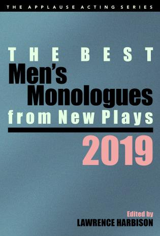 Cover image for the book The Best Men's Monologues from New Plays, 2019