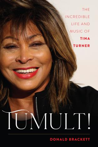 Cover image for the book Tumult!: The Incredible Life and Music of Tina Turner