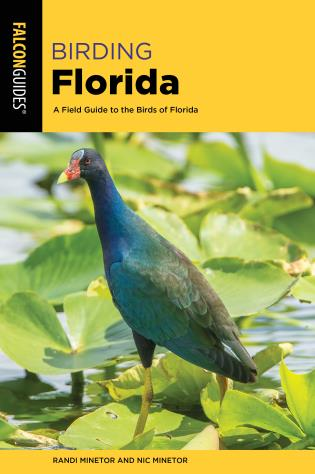 Cover image for the book Birding Florida: A Field Guide to the Birds of Florida